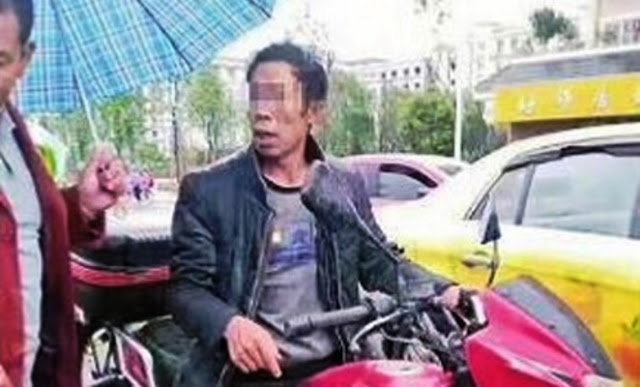 Little Boy Was Tied To Father's Motorbike And Was Dragged Through The Streets As Punishment For Being Too Naughty