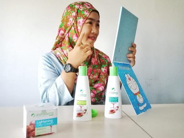 kosmetik sahabat muslimah, kosmetik halal dengan ekstrak buah kurma