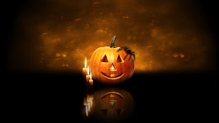 Happy Halloween Images For Twitter 2016 scary candle
