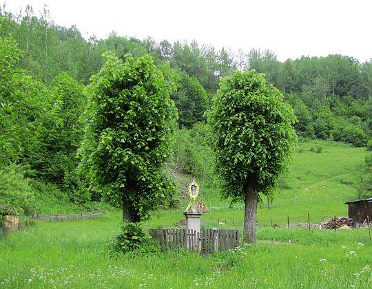 Kapliczka we wsi Šípková.