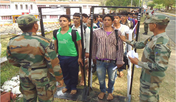 Mirzapur Army Rally, Indian Army Rally, Open Bharti Rally