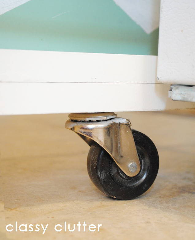 Attach Your Handle Or To The Front I Found That A Drawer Pull Worked Well Cabinet In And Out