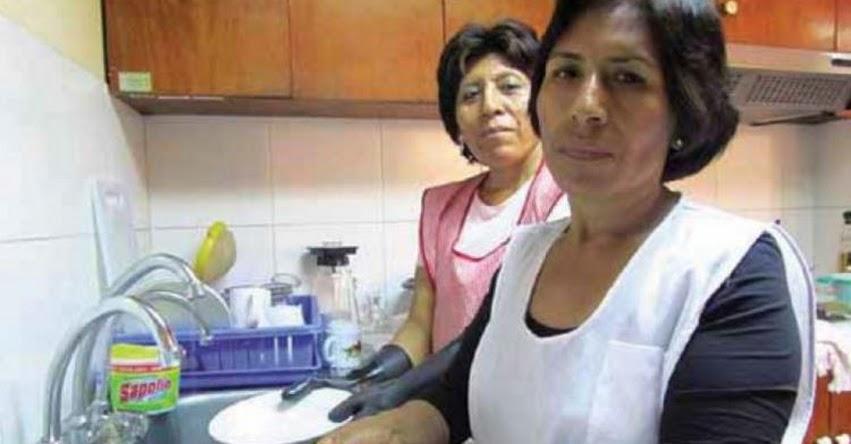 Congreso plantea pensión de S/ 651 para amas de casa en situación de pobreza