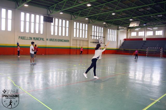 deporte arucas crossminton badminton
