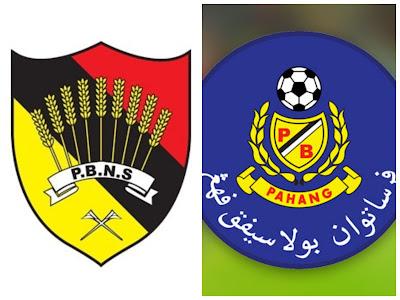 Live Streaming Negeri Sembilan vs Pahang Liga Super 19.6.2018