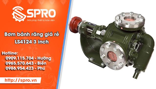 Spro - Bơm dầu bánh răng Đài Loan giá rẻ tại TPHCM