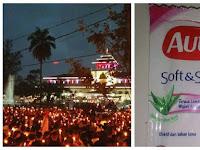 Kocak! Jawara Bandung Dukung Ahok Dibui & Bagi-Bagi AUTAN Ke Ahoker Aksi Lilin