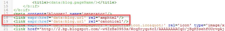Tambahkan Tag Canonical
