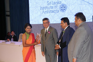 Ms. K.D.R.S. De Silva - Best Student, University of Moratuwa