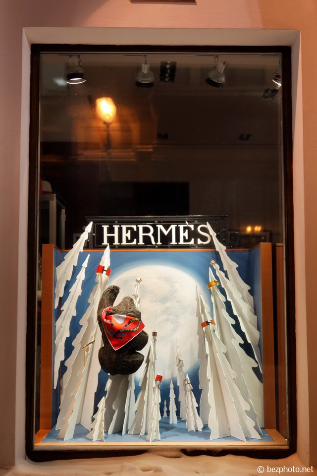 креативная витрина магазина