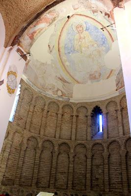 Pantocrator de la mezquita del Cristo de la Luz en Toledo