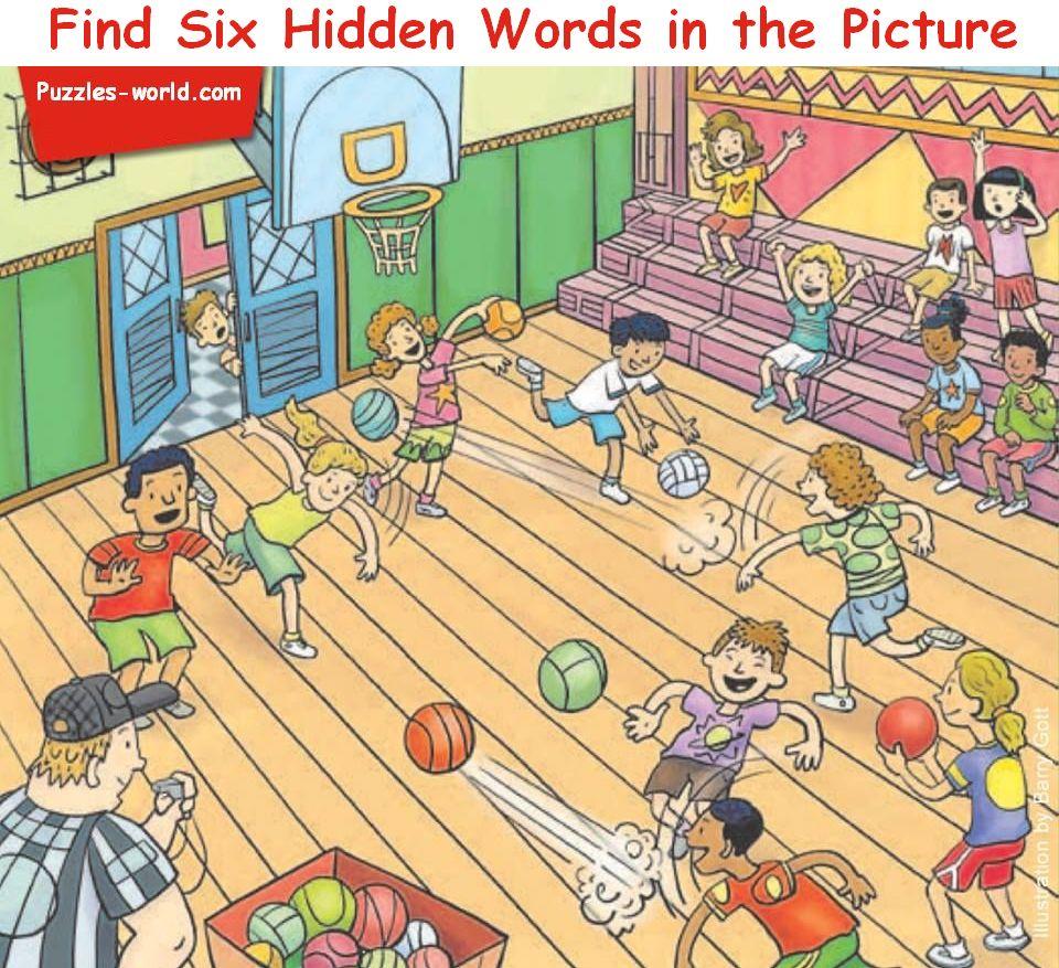 hidden word puzzles