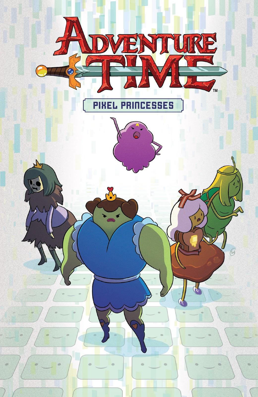 Read online Adventure Time: Pixel Princesses comic -  Issue # Full - 1