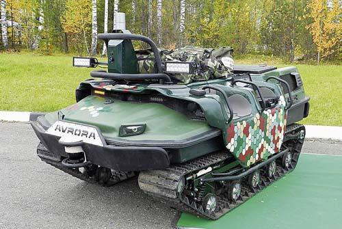 Мобильная Автономная Робототехническая Система (МАРС) А-800