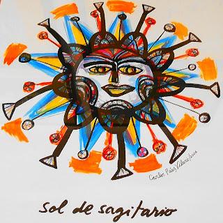 O Sol de Sagitário, de Carlos Paez Vilaró