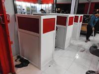 Meja Warnet dan Sekat - Cubicle Workstation - Furniture Semarang