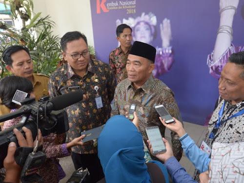 Mendikbud Muhadjir Effendy di RNPK 2018