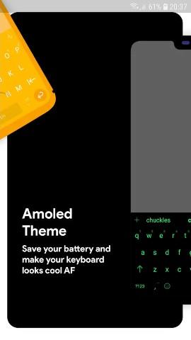 Download Chrooma Keyboard PRO 7 4 1 Emoji APK -  Apk mods