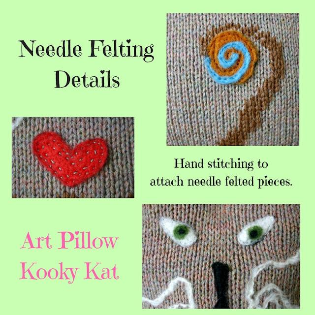 Kooky Kat details by Minaz Jantz