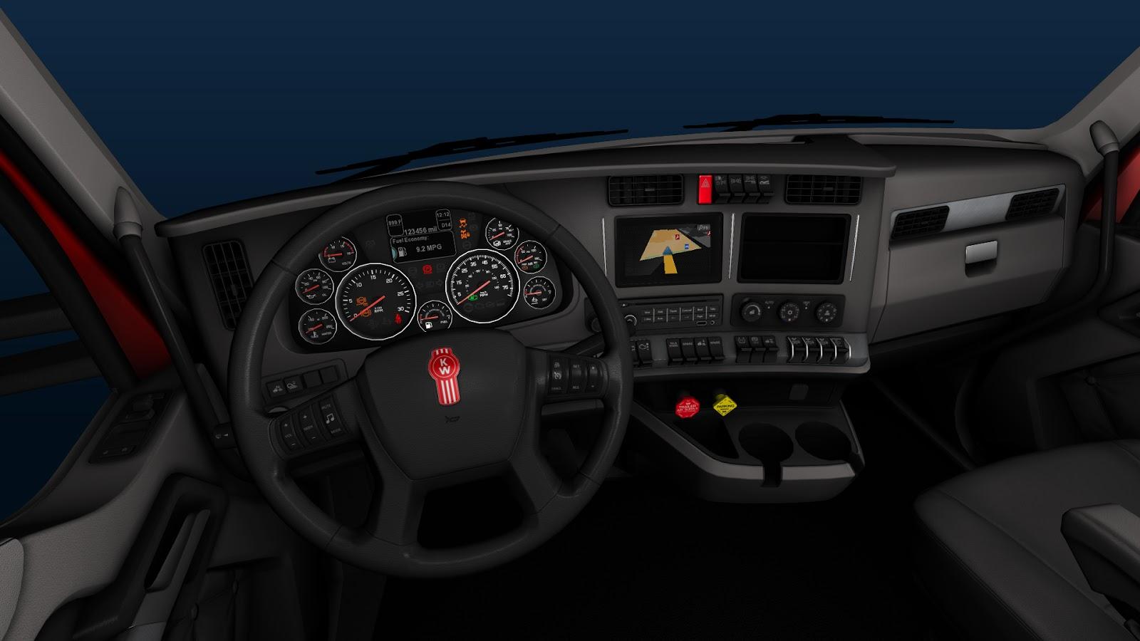 Scs Software S Blog Kenworth T680 Interior