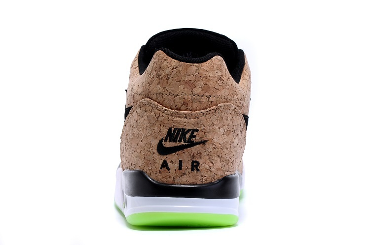 """save off 85488 1a22e ... Voltage Green outsole that gives the sneaker a pop of contrast, you can  purchase this """"Cork"""" variation of the Nike Air Flight Squad at Our Store  now,let ..."""