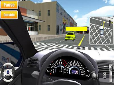 لعبة تعليم قيادة السيارات للايفون وايباد و اايبود iPhone 3D 2017