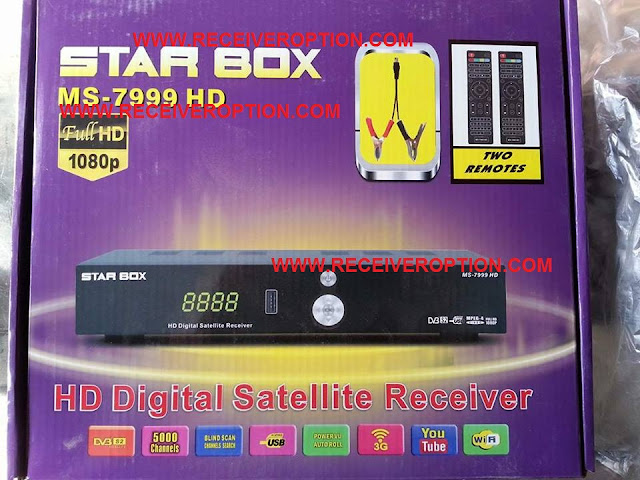 STAR BOX MS-7999 HD RECEIVER CCCAM OPTION