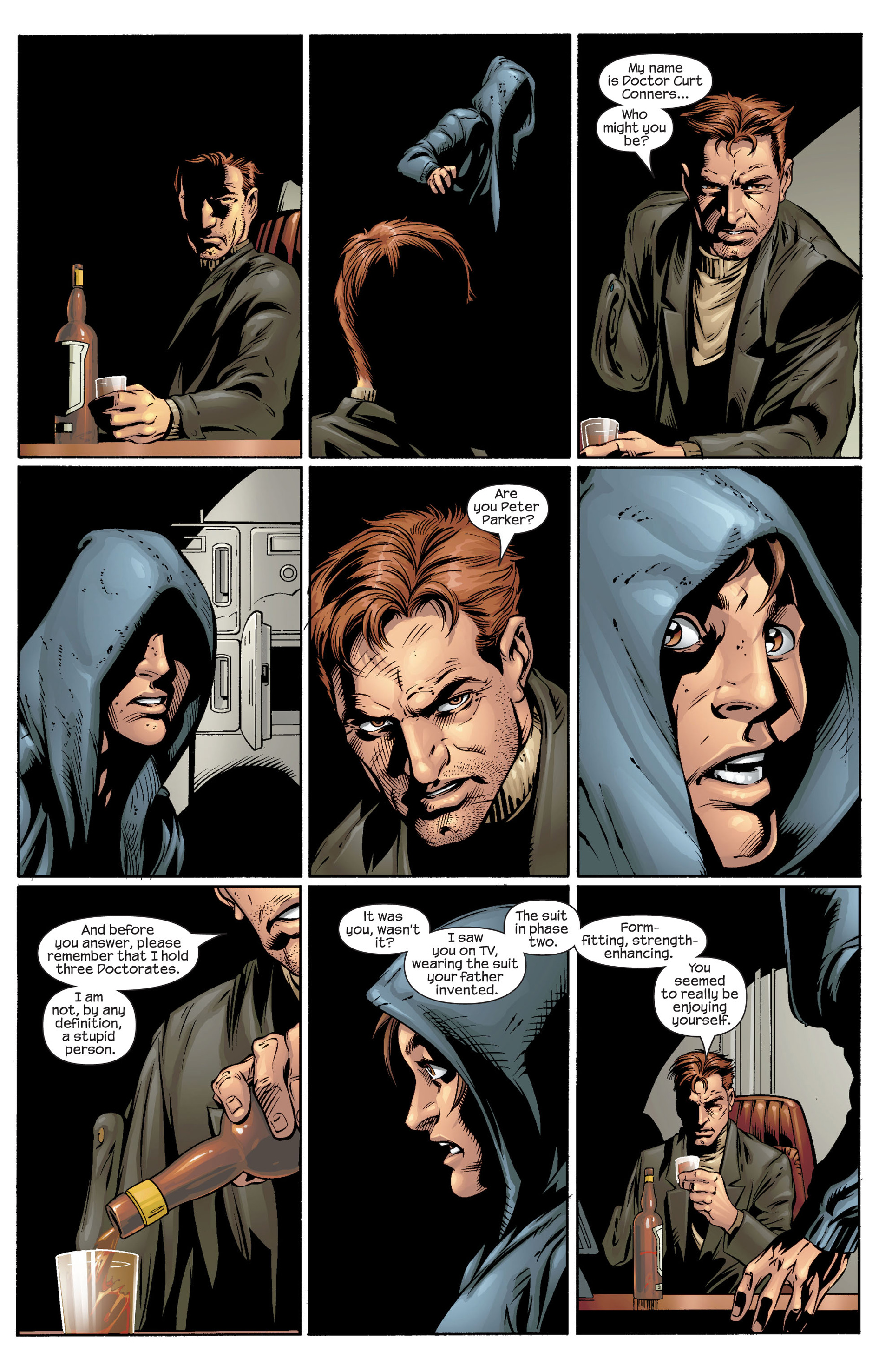Read online Ultimate Spider-Man (2000) comic -  Issue #39 - 17