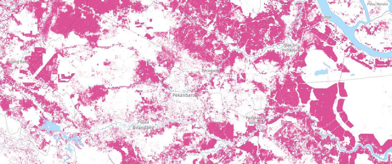 Data Kehilangan Tutupan Pohon 2000-2018