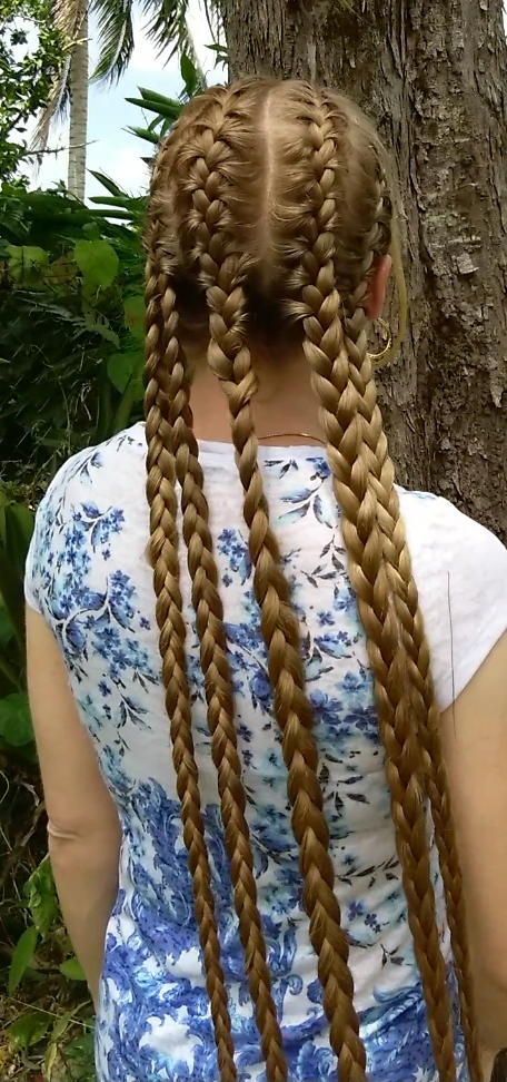 Braids & Hairstyles for Super Long Hair: 5 French Braids