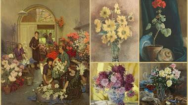 Anna Airy. Pintando flores en tiempos de guerra