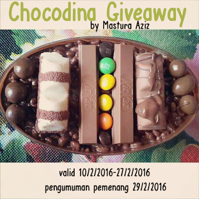 Chocodina Giveaway by Mastura Aziz