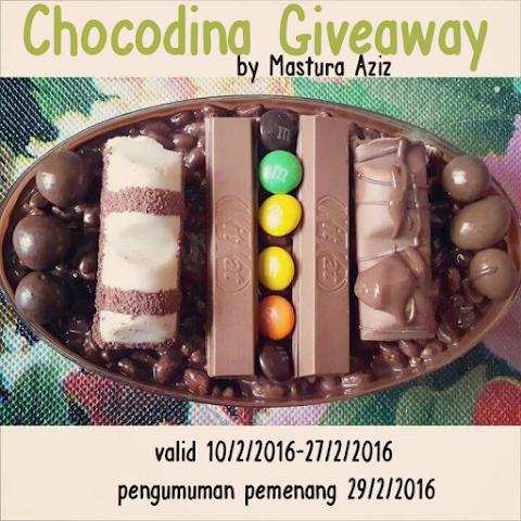 Chocodina Giveaway by Mastura Aziz