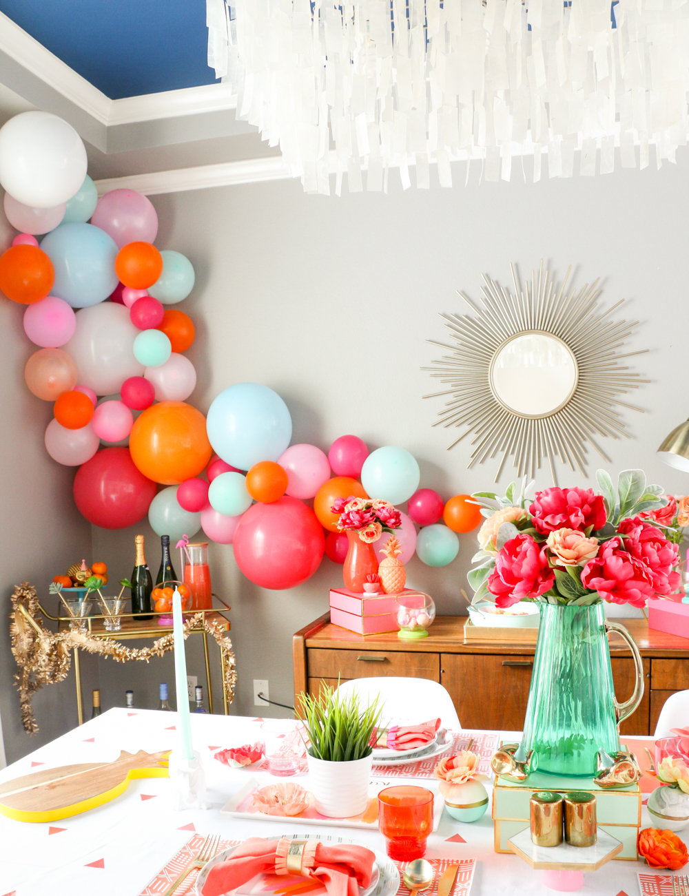 A kailo chic life style it mother 39 s day brunch for B day decoration ideas