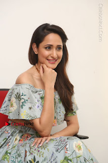Actress Pragya Jaiswal Stills in Floral Dress at turodu Interview  0157.JPG
