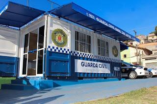 Prefeitura de Embu das Artes inaugura base da Guarda Civil no Jardim Santo Eduardo
