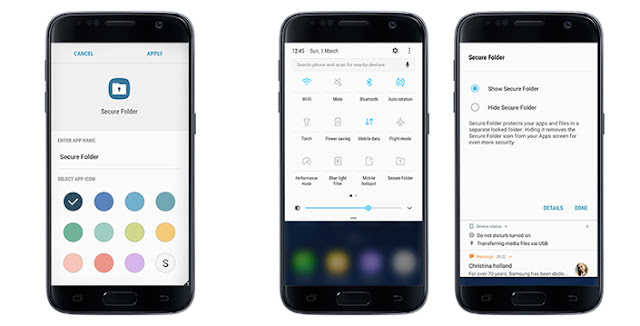 Samsung Secure Folder Feature on your S7 and S7 Edge