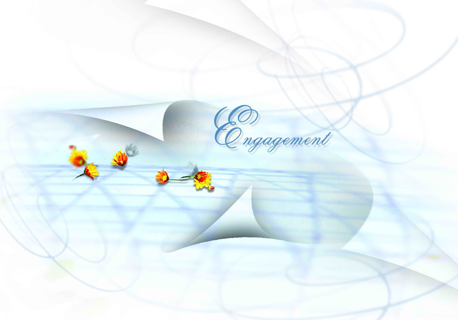Wedding Background PSD File Free Download