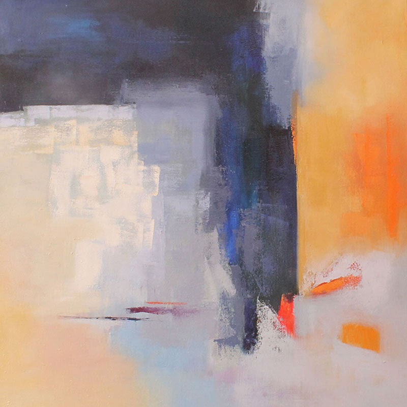 Abstract Paintings by Cecilia Arrospide.