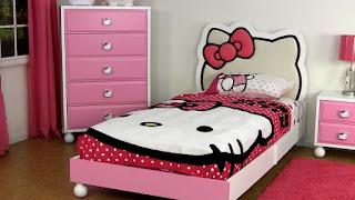 Gambar Ranjang Hello Kitty 5