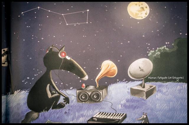 Le loup qui avait la tête dans les étoiles