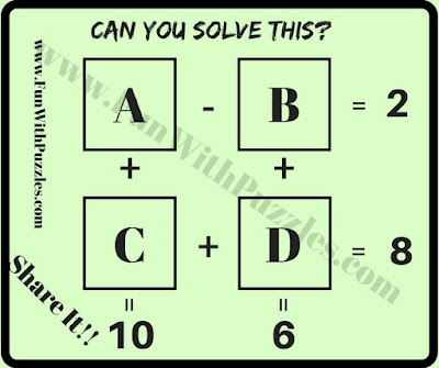 Math brain teaser for students