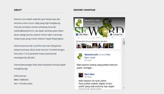 """Situs Hoax Seword.com Diduga Milik Alifurrahman S Asyari Yang Disinyalir Sebagai """"Ahoker"""""""