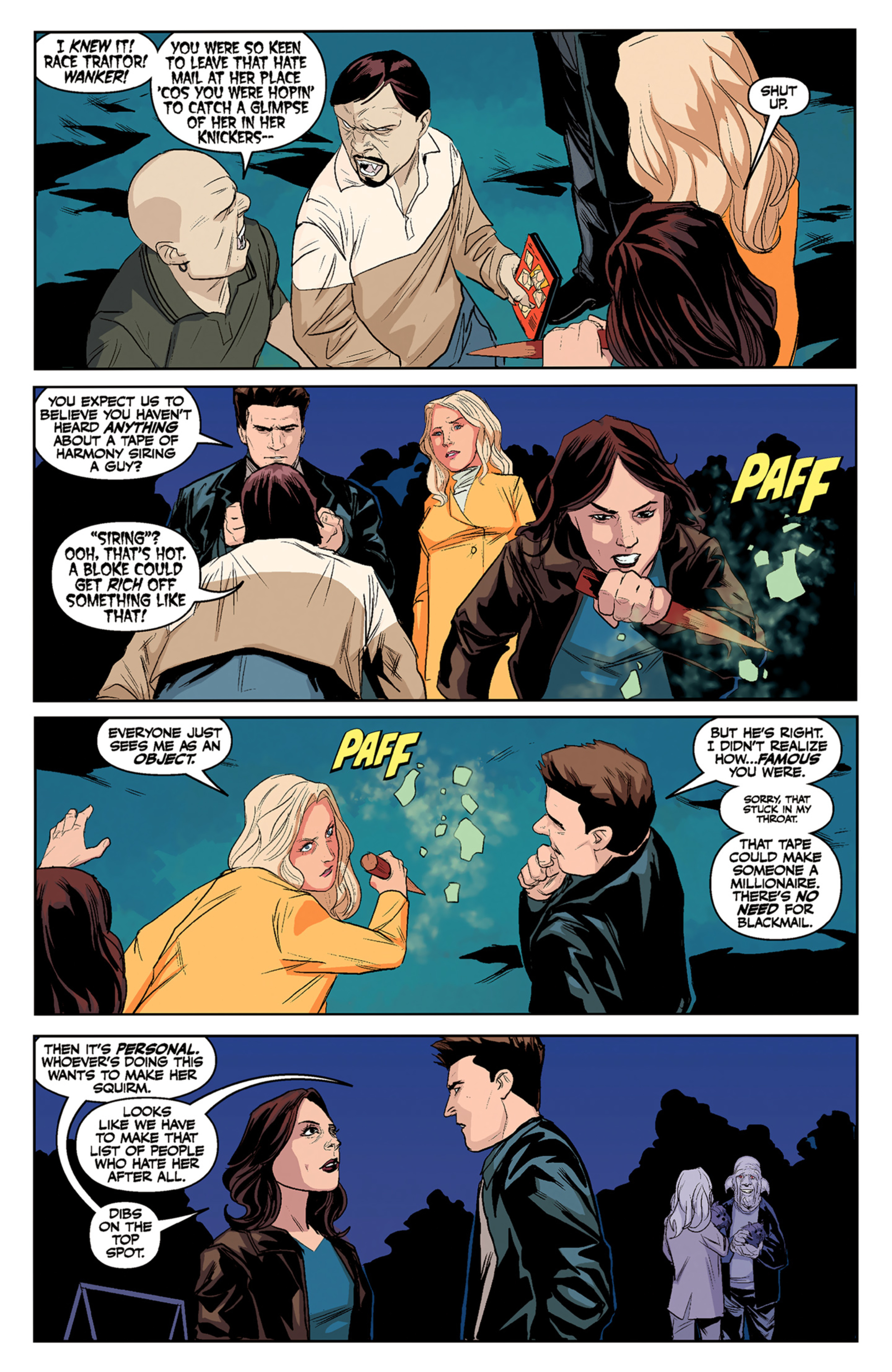 Read online Angel and Faith comic -  Issue #5 - 14