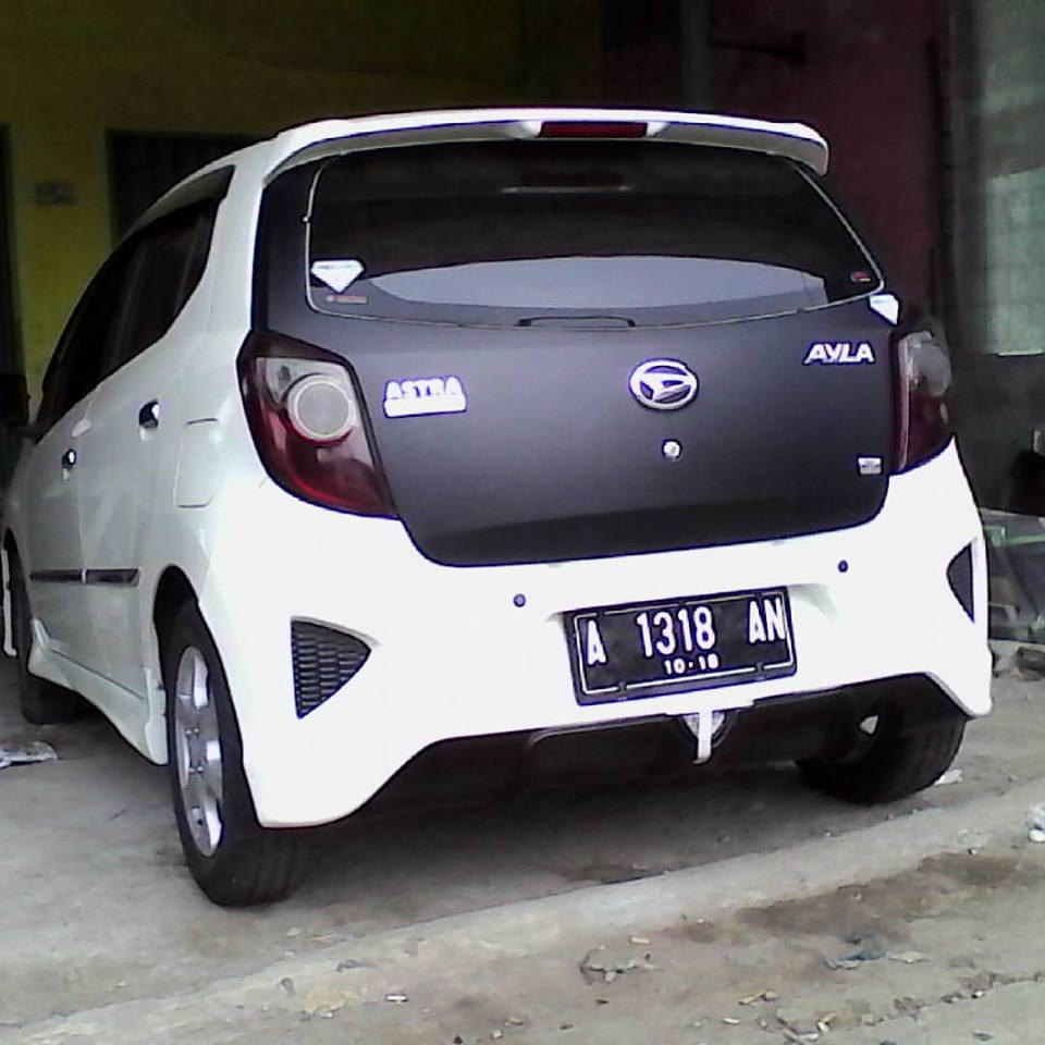 Variasi Mobil Ayla M Sporty Terbaru Sobat Modifikasi
