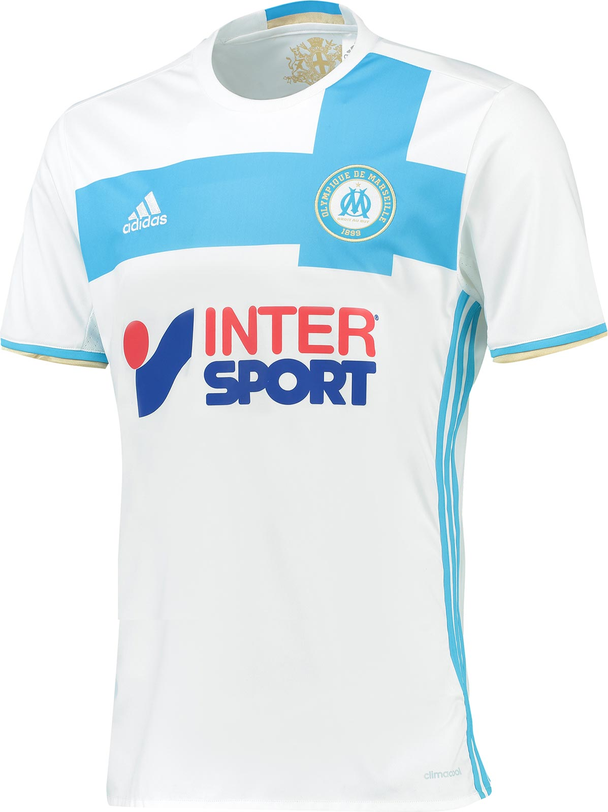 olympique marseille 16 17 kits released footy headlines. Black Bedroom Furniture Sets. Home Design Ideas