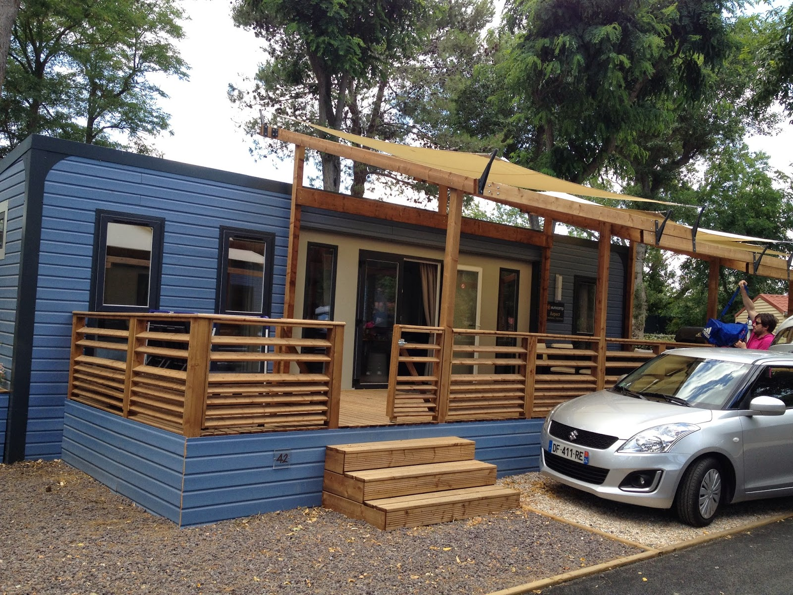 Aspect holiday home Eurocamp