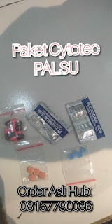 paket cytotec palsu