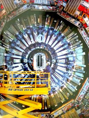 CMS en el Gran Colisionador de Hadrones