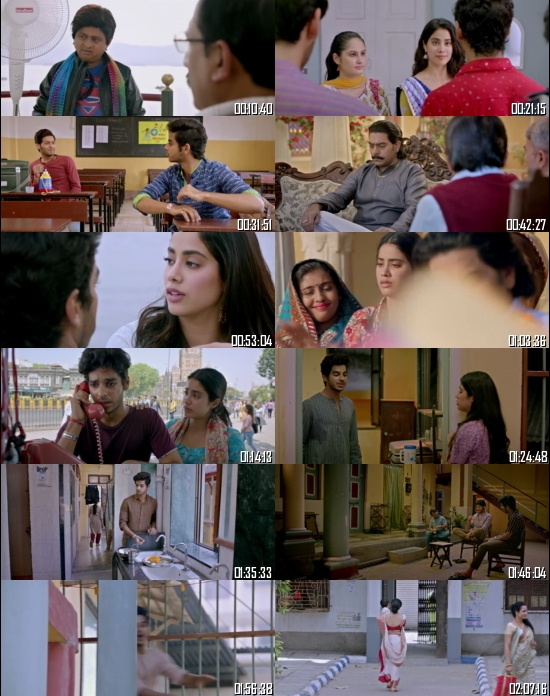 Dhadak 2018 Hindi 720p 480p BRRip x264 Full Movie